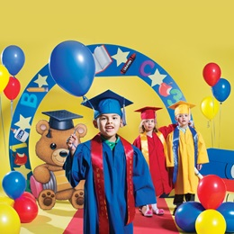 Kid's Teddy Bear Background & Prop Set