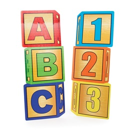 ABC and 123 Blocks Stage Prop Kit (set of 2)
