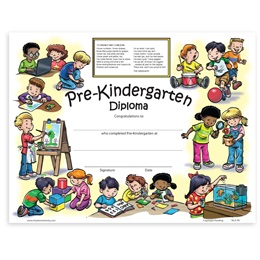New Class Activity Diploma - Pre-K