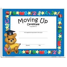 Teddy Bear Diploma - Moving Up