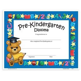 Teddy Bear Diploma - Pre-K