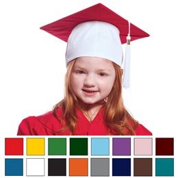 Two-color Graduation Cap