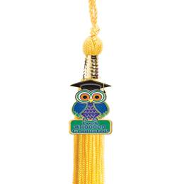 Tassel with Owl Charm