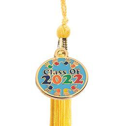 Tassel with Class of 2020/Handprints Charm