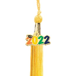 Tassel with 2020 Charm