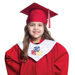 Kid's Designer Graduation Hood