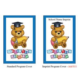 Kid's Program Covers - Teddy Bear