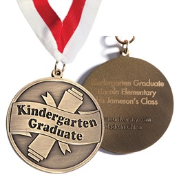 Engraved Medallion - Kindergarten Graduate