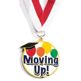 Enamel Medallion - Moving Up