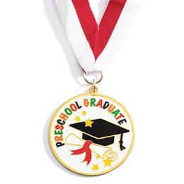 Enamel Medallion - Preschool Graduate