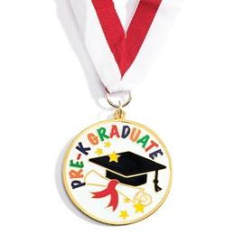 Enamel Medallion - Pre-K Graduate
