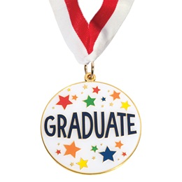 Colorful Graduate Enamel Medallion