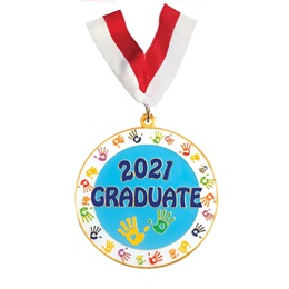 Enamel Medallion - 2021 Graduate