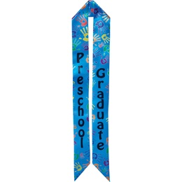 Preschool Graduation Sash - Handprints