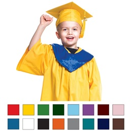 Children's Graduation Sets with Hoods