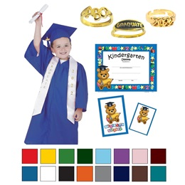 Children's Matte Deluxe Graduation Package