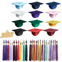 Children's Shiny Cap / Tassel Grad Set