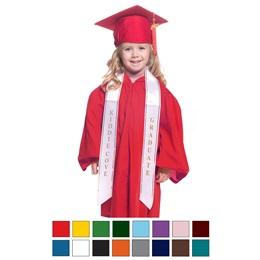 Matte Graduation Set with Custom Sash