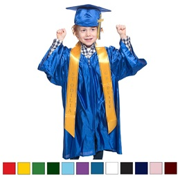 Shiny Graduation Set with Custom Sash