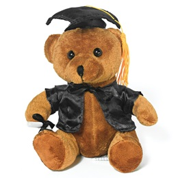 Graduation Teddy Bear - Black