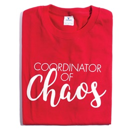 Coordinator of Chaos T-Shirt - Adult