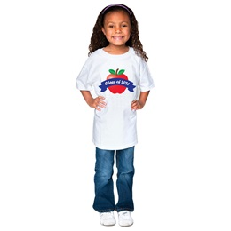 Class of 2021 Apple T-Shirt  - Youth
